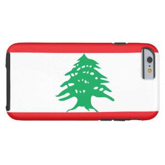 Líbano Funda De iPhone 6 Tough