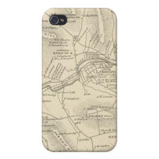 Líbano, Grafton Co iPhone 4/4S Carcasa