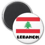 Líbano Imán Redondo 5 Cm