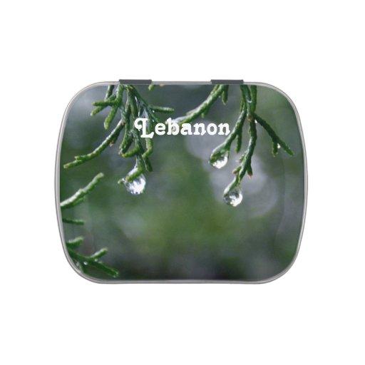 Líbano Jarrones De Dulces