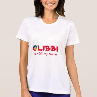 Libbi no es mi camiseta conocida para mujer