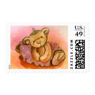 Libby Ballet Bear Postage