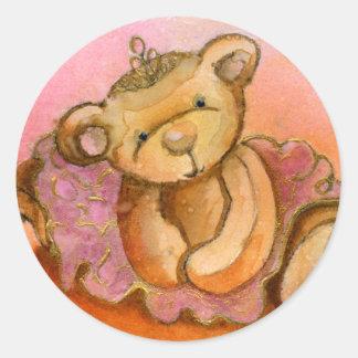 Libby Ballet Bear Sticker