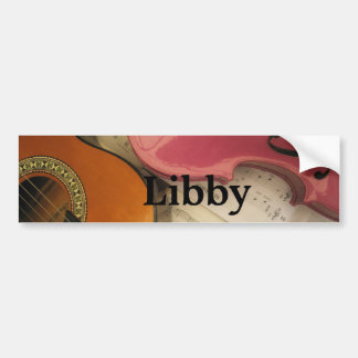 Libby Bumper Stickers