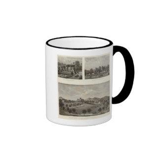 Libby, Halstead residences Coffee Mugs