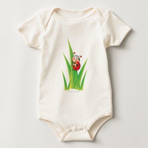 Libby la enredadera del niño de la mariquita traje de bebé