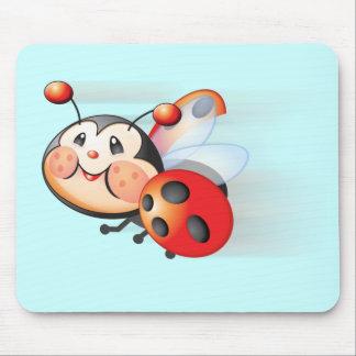 Libby la mariquita Mousepad