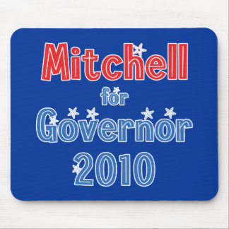Libby Mitchell for Governor 2010 Star Design Mouse Pad