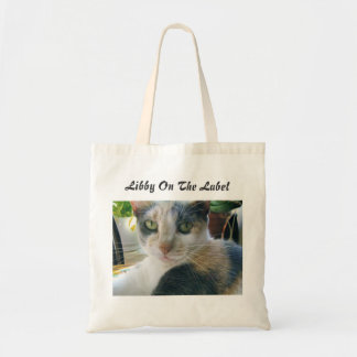 Libby On The Label Budget Tote Bag
