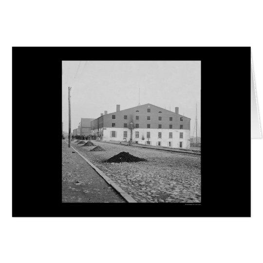 Libby Prison in Richmond, VA 1865 Card