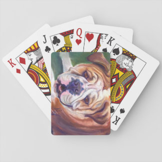 Libby the English Bulldog Deck Of Cards