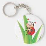 Libby the Ladybug Keychain