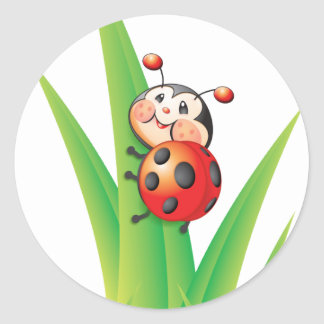 Libby the Ladybug Sticker
