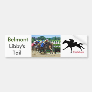 Libby's Tail 2 Yr-old Filly Bumper Sticker