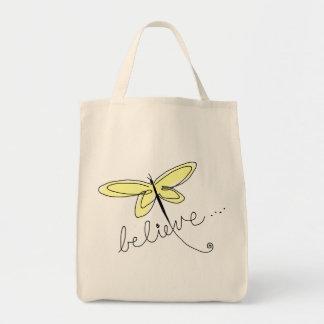 Libélula amarilla bolsas