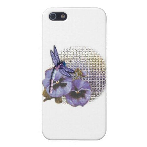 libélula azul iPhone 5 funda
