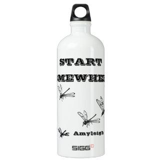 Libélula Botella De Agua