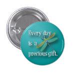 Libélula - cada día es un regalo precioso pin