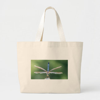 LIBÉLULA con las alas dañadas Bolsa Tela Grande