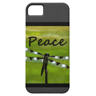 Libélula de la paz funda para iPhone SE/5/5s