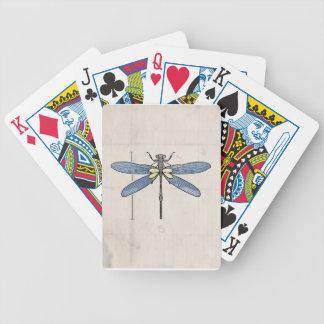 Libélula de las series de los insectos por VOL25 Cartas De Juego