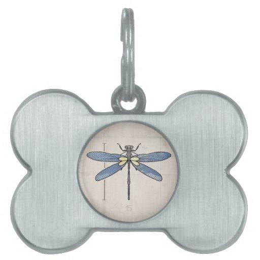 Libélula de las series de los insectos por VOL25 Placas Mascota