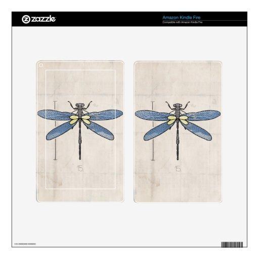 Libélula de las series de los insectos por VOL25 Skin Para Kindle Fire