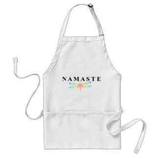 Libélula de Namaste Delantal
