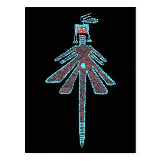 Libélula de Navajo, mitología del insecto Tarjetas Postales
