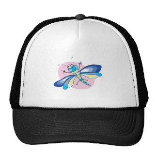 libélula en colores pastel feliz linda gorros