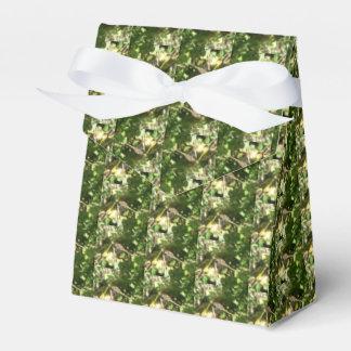 Libélula en una caja del favor de la ramita cajas para detalles de boda