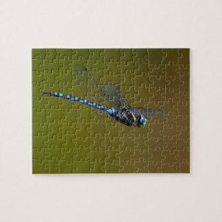 libélula en vuelo puzzle