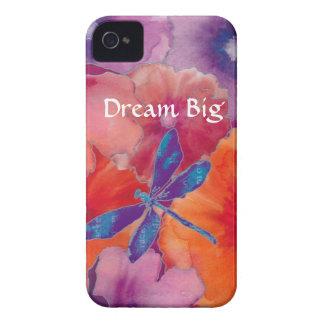 Libélula grande ideal del caso del iPhone 4 de B iPhone 4 Case-Mate Cobertura