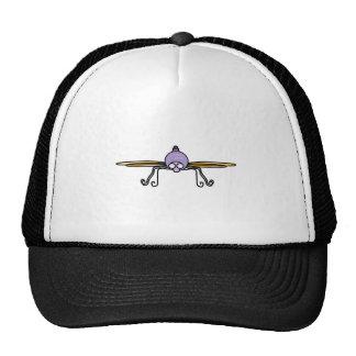 Libélula púrpura gorro