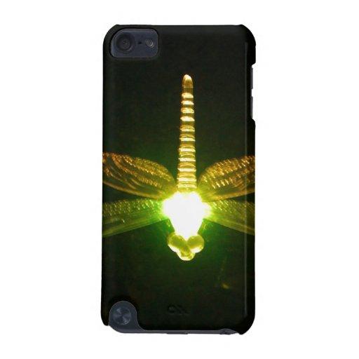 Libélula que brilla intensamente funda para iPod touch 5G