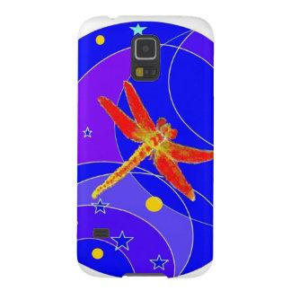 Libélula roja celestial por Sharles Funda Galaxy S5