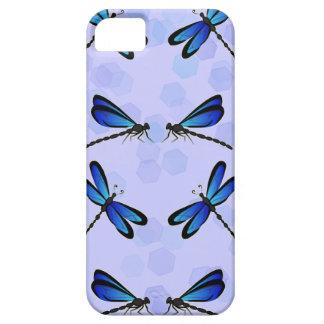 libélulas azules iPhone 5 Case-Mate cárcasa