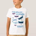 libélulas Bien-comportadas Remera