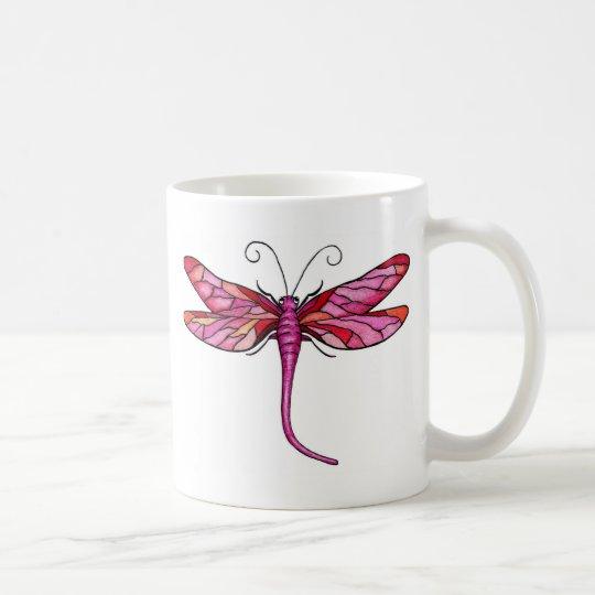 Libélulas caprichosas taza de café
