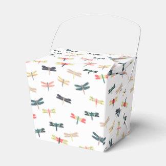 Libélulas por las impresiones de Origami Caja Para Regalos