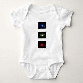 Libélulas que brillan intensamente body para bebé