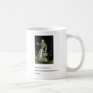 Liberace's First Day of Kindergarten Coffee Mug
