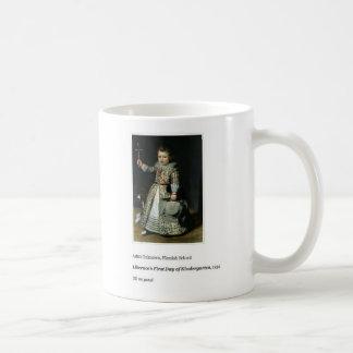 Liberace's First Day of Kindergarten Coffee Mug