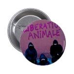 Liberación Animale Pin Redondo De 2 Pulgadas