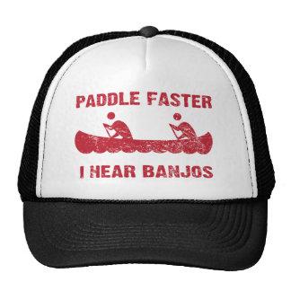 Liberación de PaddleFaster Gorros Bordados