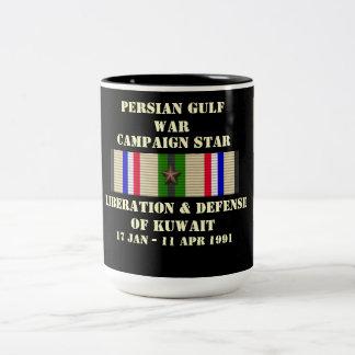 Liberación y defensa de la campaña de Kuwait Taza De Café