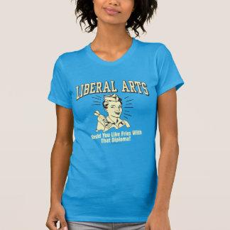 Liberal Arts: Like Fries With Diploma Tee Shirts
