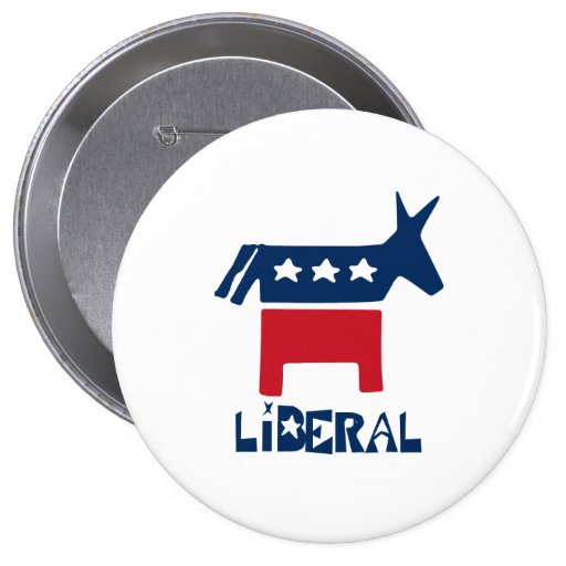 Liberal Pinback Buttons