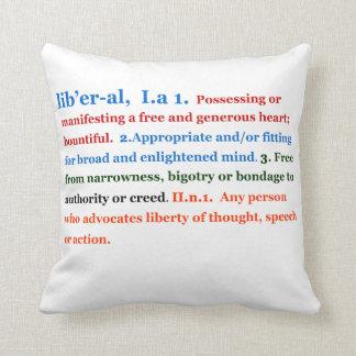 Liberal Cojín
