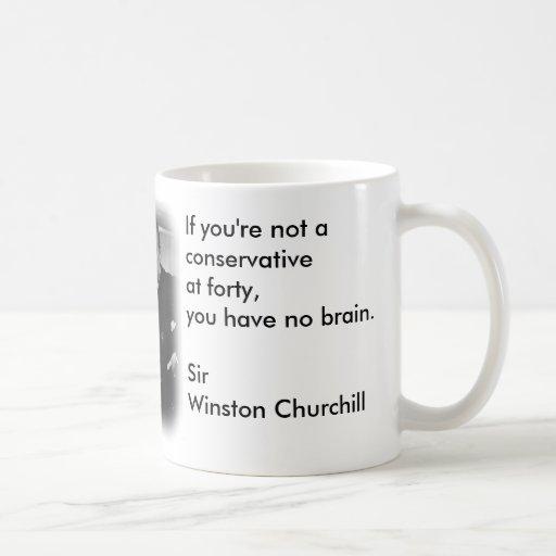 Liberal/conservador Tazas De Café